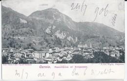 Ampezzo -Udine 1906 - Carnia Panorama Di Ampezzo - Autres Villes