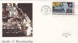 USA 1970 - Brief - Apollo 13 Moonlanding - Covers & Documents