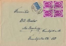 Bund Brief Mef Minr.4x 125 Davon 2 Waager. Paare Hamburg - BRD