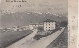 Forni Di Sotto -Udine 1906 - Saluti Da - Autres Villes