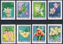 Vietnam - Orchidées 7/14 Oblit. - Orchids