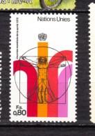 Nations-unies, United Nations, UN, ONU, Homme De Vitruve Man, Léonard De Vinci, Homme Nu, Nude Man - Nudi