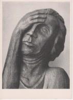 Ernst Barlach, Der Bagnadete   - 1935 Röndahl Bei Salzhausen In Der Lüneburger Heide - Sculture