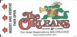 Orleans Casino Las Vegas, NV Hotel Room Key Card - Hotel Keycards