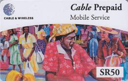 Télécarte Prépayée Pour Téléphone Portable / Afrique  - SEYCHELLES  - Africa Mobile Phone Prepaid Phonecard 2 - Seychelles