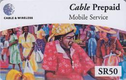 Télécarte Prépayée Pour Téléphone Portable / Afrique  - SEYCHELLES  - Africa Mobile Phone Prepaid Phonecard 2