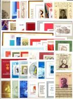 42 Blocks 1960-1990 DDR ** 86€ Sport Gemälde Natur Technik Politik Blocs Hojas Hb Topic Ms History Sheets Bf GDR Germany - Stamps