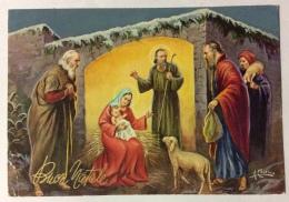 Buon Natale  Firmata A. Collino  Viaggiata Fg - Noël