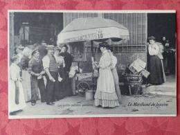 Dep 75 , Cp(repro) Les Petits Métiers De PARISiIENS , Le Marchand De Lessive (01.13) - Petits Métiers à Paris