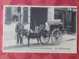 Dep 75 , Cp(repro) Les Petits Métiers De PARISIENS , Le Chiffonnier (01.25) - Petits Métiers à Paris