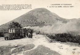 63.PUY-DE-DOME.......CPA...ANIMEE....LE TRAIN..........NON ECRITE.......LOT F2478 - Clermont Ferrand