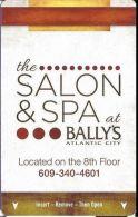 Bally´s Casino Atlantic City, NJ Hotel Room Key Card With C-4146010 Over Mag Stripe - Hotel Keycards