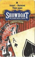 Showboat Casino Atlantic City, NJ  Hotel Room Key Card - Hotel Keycards
