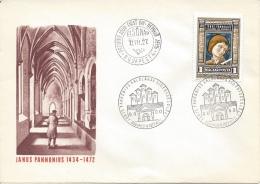 HUNGARY - 1972.FDC - Janus Pannonius,humanist And Poet II.Mi 2738. - FDC