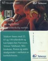 Telefonkarte Norwegen - Kinder - N-43  1/95 - Norwegen