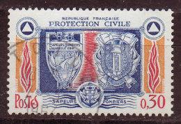 FRANCE - 1964 - YT  N° 1404  - Oblitéré - Protection Civique - France