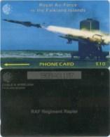 Telefonkarte Falkland Islands - Royal  Air Force In The Falkland Islands  - 59CFKA - Falkland Islands