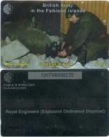 Telefonkarte Falkland Islands - Royal  Army In The Falkland Islands  - 59CFKB