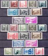 Istria Litorale Yugoslavia Occupation, 1945/1946 Sassone#41-50 And Sassone#51-60 Mint Hinged