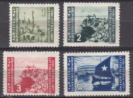 Istria Litorale Yugoslavia Occupation, 1946 Sassone#63-66 Mint Hinged