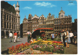 BELGIO - BELGIE - BELGIQUE - 1978 - 6F - Bruxelles - Marché Aux Fleurs à La Grand Place - Viaggiata Da Bruxelles Per ... - Bruxelles (Città)
