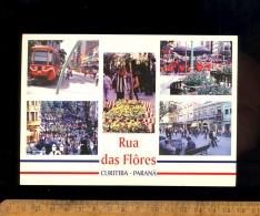 CURITIBA Parana Brasil : Rua Das Flores / Tramway - Curitiba