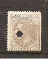 España/Spain - (usado) - Edifil Telégrafo 209T Yvert 192 - Telegrafi