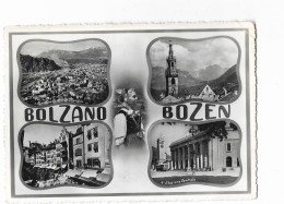 BOLZANO BOZEN QUATTRO FINESTRE VIAGGIATA FG - Bolzano (Bozen)