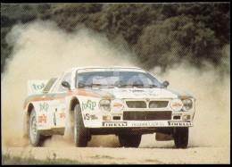 1983 POSTCARD LANCIA 037 RALLY ILHA DA MADEIRA PORTUGAL CARTE POSTALE VOITURE RALLYE CAR - Motorsport
