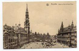 Belgique--BRUXELLES--Hôtel De Ville Et Grand'Place  N°23  Série 1  éd Nels - Places, Squares