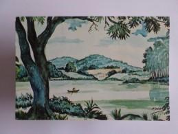 ART POSTCARD BRASIL BRAZIL BRESIL RECIFE PERNAMBUCO APIPUCOS & MACAXEIRA 1980 YEARS - Recife