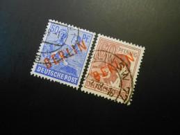 Berlin (West)  Mi30+31 - 50+60Pf -  Freimarken 1949 - MI € 10,80 - Used Stamps