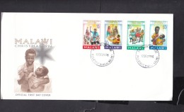 Malawi, 1996 Christmas,  First Day Cover, - Malawi (1964-...)