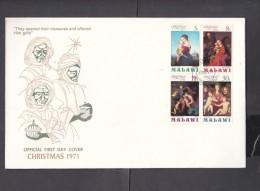 Malawi, 1971 Christmas,  First Day Cover, - Malawi (1964-...)