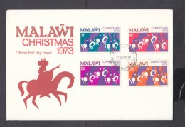 Malawi, 1973 Christmas,  First Day Cover, - Malawi (1964-...)