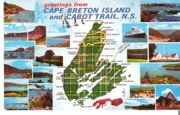 Greetings From Cape Breton And Cabot Trail, Nova Scotia  The Cape Breton Tartan - Cape Breton