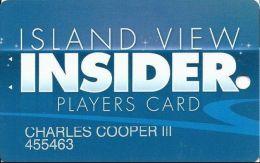 Island View Casino Gulfport, MS - Slot Card - @2010 - Casino Cards