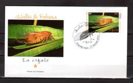"""Enveloppe 1er Jour De 2011 """" LA CIGALE """" - MATA-UTU Le 17-01-2011 """". Parfait état. - Insectes"""