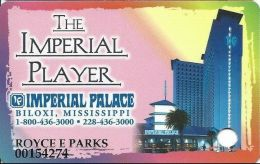 Imperial Palace Casino Biloxi, MS - 2nd Issue Slot Card - Brown Mag - Casino Cards