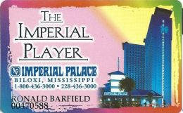 Imperial Palace Casino Biloxi, MS - 3rd Issue Slot Card - Larger Phone# On Back - Casino Cards