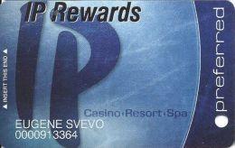 IP Casino Biloxi, MS Slot Card - Preferred In Lower Case - (I) Over Mag Stripe - Casino Cards