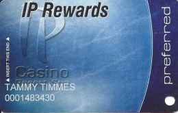 IP Casino Biloxi, MS Slot Card - Preferred In Lower Case - P610005 & Www.plicards.com On Back - Casino Cards