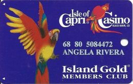 Isle Of Capri Casino Black Hawk, CO Slot Card - Casino Cards