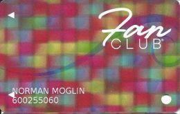 Isle Of Capri Casino Multi-Locations Fan Club Slot Card @2012 - Casino Cards