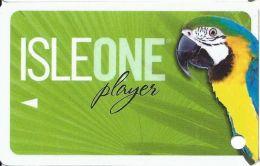Isle Of Capri Casino Multi-Locations - IsleOne Player Slot Card @2009 (BLANK) - Casino Cards
