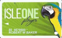 Isle Of Capri Casino Multi-Locations - IsleOne Player Slot Card @2009 - Casino Cards