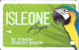 Isle Of Capri Casino Multi-Locations - IsleOne Player Slot Card @2010 - Casino Cards