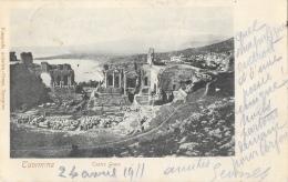 Taormina (Messina) - Teatro Greco - Carte Précurseur - Messina