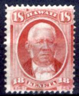 Hawaii 0004 - 1864-71: Y&T N. 26 (sg) NG, Privo Di Difetti Occulti.- - Hawaï