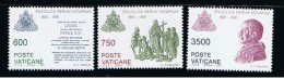 1991 - VATICANO - S11E - SET OF 3 STAMPS ** - Unused Stamps